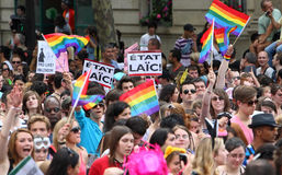 Paris Gay Pride 2010 Royalty Free Stock Image