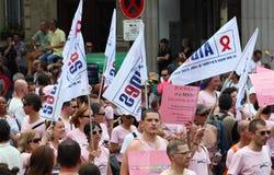 Paris Gay Pride 2010 Royalty Free Stock Photos