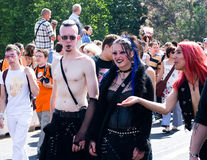 Paris Gay Pride Parade Royalty Free Stock Photography