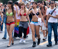 Paris Gay Pride Parade Stock Images