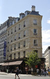 Paris, Gebäude Augustes 16,2013 Lizenzfreies Stockfoto