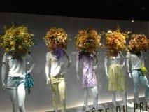 Paris, Geschäft, Mannequins, stockfoto