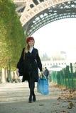 Paris Girl Royalty Free Stock Photos