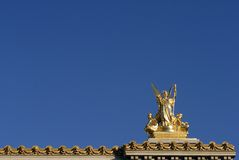 Paris Gold royalty free stock image