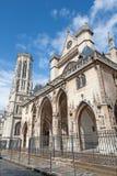 Paris -  gothic church Saint Germain-l`Auxerrois Stock Images