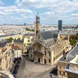 Paris gränsmärke Royaltyfria Bilder