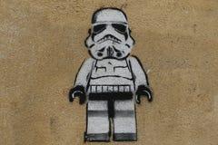 Paris Graffiti Royalty Free Stock Photos