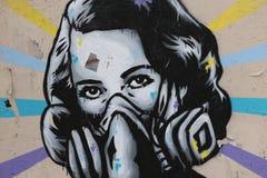 Paris Graffiti Royalty Free Stock Photography