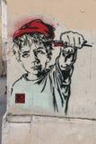 Paris Graffiti Stock Photos