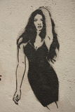 Paris Graffiti Stock Image