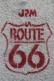 Paris grafitti Royaltyfri Foto