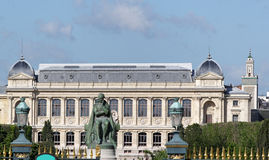 Paris, grande galerie of  jardin des plantes Royalty Free Stock Photo
