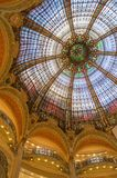 Paris Grands magasins. Decoration seen from the inside Stock Photo