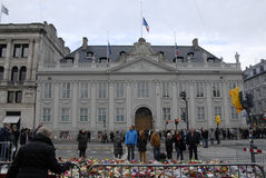PARIS GRIFF AN Lizenzfreie Stockfotos