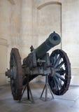 Paris - gun in Ecole Militaire Stock Image