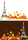 Paris höst Royaltyfria Foton