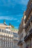 Paris h?rlig byggnad arkivfoton