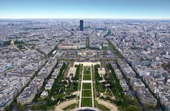 Paris from a height Stock Images
