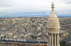 Paris from the height Stock Images