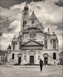Paris: Heiliges-Ã ‰ TiennedU-Mont Lizenzfreies Stockfoto