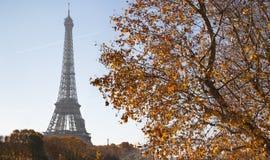 Paris-Herbstschwingungen lizenzfreies stockbild