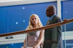 Paris Hilton Image libre de droits