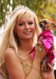 Paris Hilton Royaltyfri Fotografi