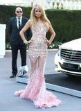 Paris Hilton royaltyfri bild