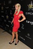Paris Hilton imagem de stock