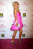 Paris Hilton Lizenzfreie Stockfotografie