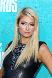 Paris Hilton arriving at the 2012 MTV Movie Awards Stock Image