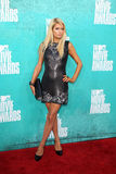 Paris Hilton arriving at the 2012 MTV Movie Awards Royalty Free Stock Photography