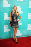 Paris Hilton arriving at the 2012 MTV Movie Awards Royalty Free Stock Images