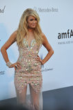 Paris Hilton. CANNES, FRANCE - MAY 23, 2013: Paris Hilton at amfAR's 20th Cinema Against AIDS Gala at the Hotel du Cap d'Antibes, France Royalty Free Stock Image