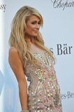 Paris Hilton. CANNES, FRANCE - MAY 23, 2013: Paris Hilton at amfAR's 20th Cinema Against AIDS Gala at the Hotel du Cap d'Antibes, France Stock Images
