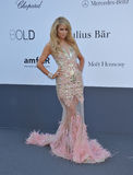 Paris Hilton. CANNES, FRANCE - MAY 23, 2013: Paris Hilton at amfAR's 20th Cinema Against AIDS Gala at the Hotel du Cap d'Antibes, France Royalty Free Stock Photo