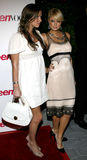 Paris Hilton e Nicky Hilton Fotografia de Stock