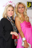 Paris Hilton,Kathy Hilton. Kathy & Paris Hilton arriving at the Paris Hilton Beauty Line Launch Party Thompson Hotel Beverly Hills,  CA November 17, 2009 Stock Photo