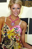 Paris Hilton no tapete vermelho Fotos de Stock