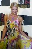 Paris Hilton no tapete vermelho Foto de Stock