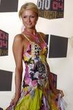 Paris Hilton no tapete vermelho Imagens de Stock Royalty Free