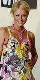 Paris Hilton no tapete vermelho Fotografia de Stock Royalty Free
