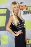 Paris Hilton no tapete vermelho Imagem de Stock Royalty Free