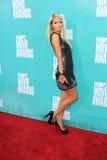 Paris Hilton på MTV filmen 2012 tilldelar ankomster, den Gibson amphitheateren, universalstaden, CA 06-03-12 royaltyfri foto