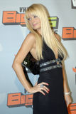 Paris Hilton on the red carpet Stock Images