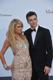 Paris Hilton & River Viiperi Royalty Free Stock Photography