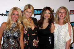 Paris Hilton,Toya,Kathy Hilton,Kim Richards,La Toya Jackson,LaToya Jackson,Jacksons Stock Photo