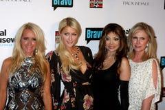 Paris Hilton,Toya,Kathy Hilton,Kim Richards,La Toya Jackson,LaToya Jackson,Jacksons Stock Image