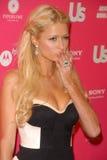 Paris Hilton, verwendet lizenzfreies stockfoto