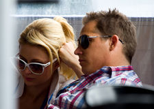 Paris Hilton. Visits Catalonia Circuit for the Moto GP Grand Prix weekend, on June 5, 2011 in Barcelona, Spain Stock Images